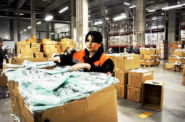 работа на складе для девушек