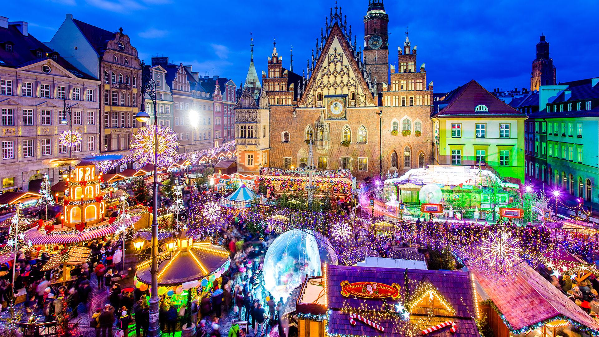 Рождественские ярмарки в Польше: где и когда пройдут в этом году